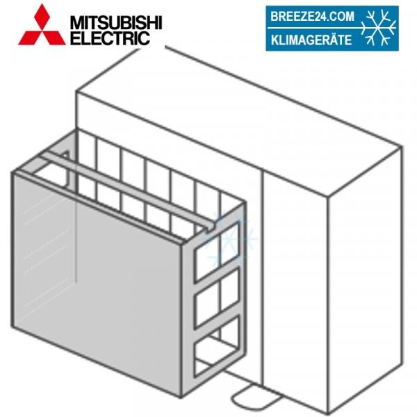 PAC-SJ06AG-E Windschutzblende für Mitsubishi-Electric Außengeräte PUZ-ZM35/50