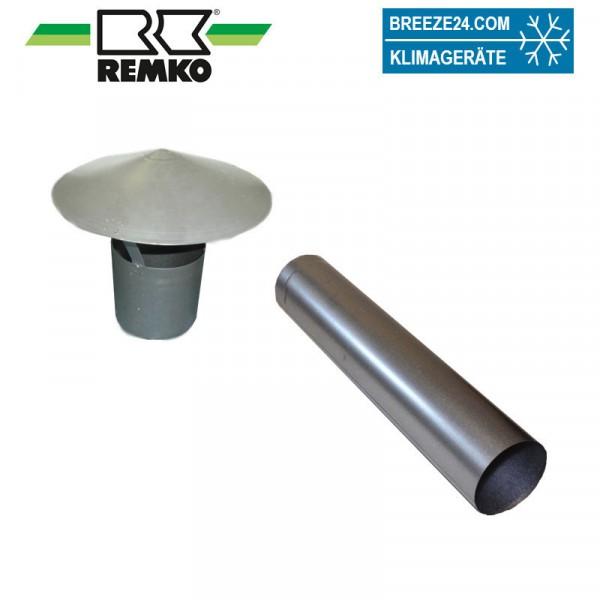 Spezial-Abgasrohr mit Regenhaube für ATK 25