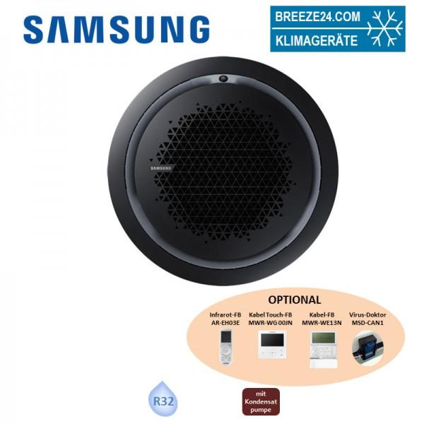 Samsung AC 140 RN4PKG WindFree Round Airflow Deckenkassette/Blende PC4NBNMAN schwarz (nur Monosplit)