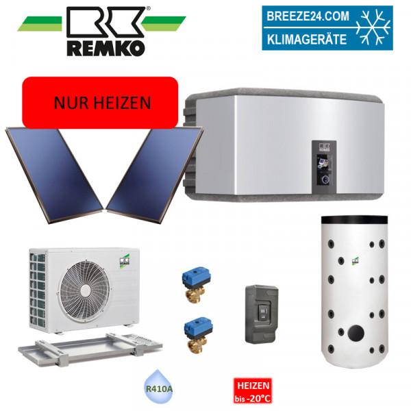 Set Wärmepumpe WKF 70 Paket Frankfurt Solar (Nur Heizen)