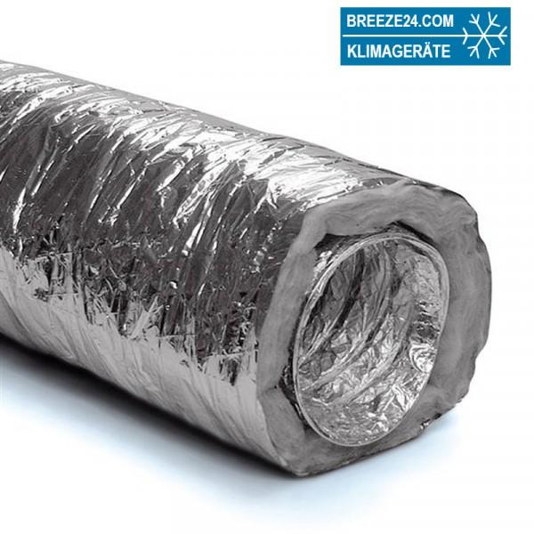 Iso-Flexrohr thermisch isoliert 10m (Durchmesser 100-250)