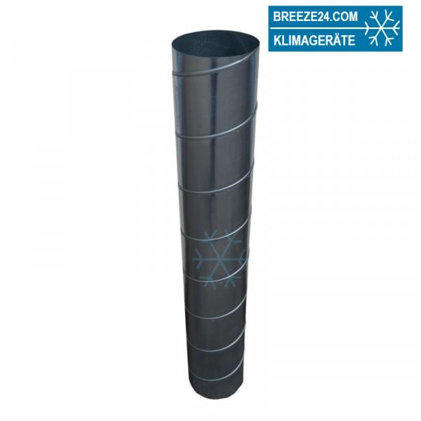 Wickelfalzrohr rund verzinkt Länge 2 m (d1 80 - 710 mm)