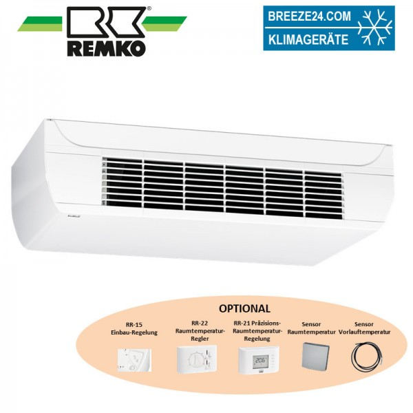 Remko Deckenunterbaugerät 2,51 kW - KWK ( DM ) 255 wassergekühlt