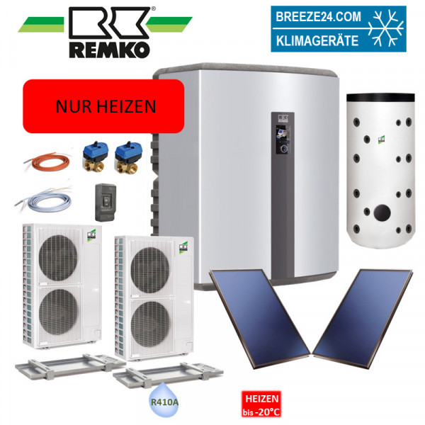 Set Wärmepumpe WKF 180 Paket Frankfurt Duo Solar