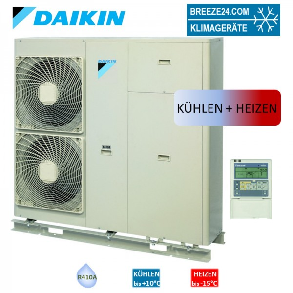 Daikin EWYQ-ACW1P009 Luftgekühlter Kaltwassersatz Kühlen und Heizen