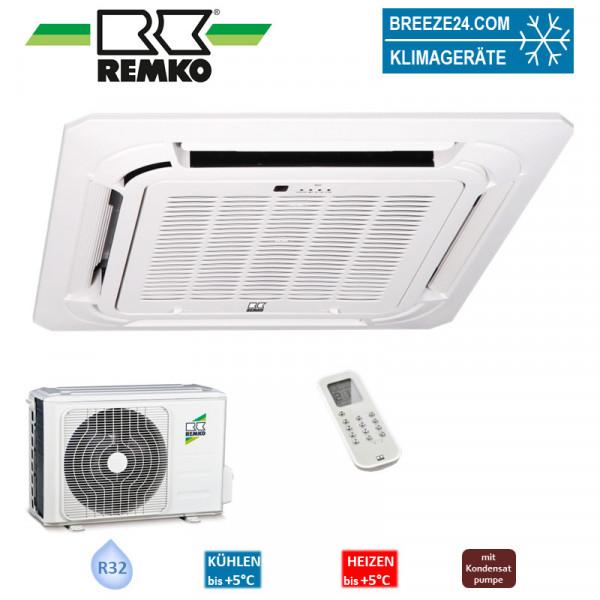 Set RVD 685 DC Inv. 4-Wege-Deckenkassette + Aussengerät R32 Remko Klimaanlage