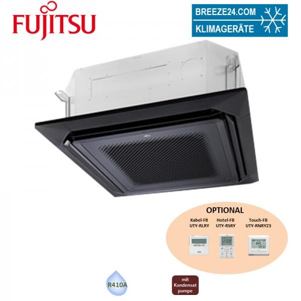 Fujitsu VRV schwarz Slim 4-Wege-Deckenkassette AUXM 018GLEH - 5,6 kW