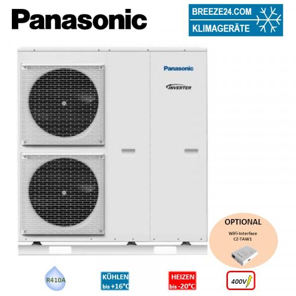 Panasonic WH-MXC09H3E8 Aquarea Kompakt Wärmepumpe 400V 7,0 kW