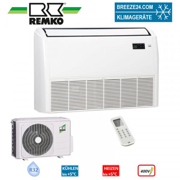 Remko Set Truhengerät 10,5 kW -RXT 1055 DC + Aussengerät R32 Klimaanlage 400V