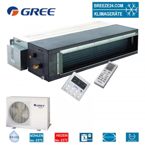 Set GFH-24-K3-4 Inverter Kanalgerät + GUHD-24-NK-4