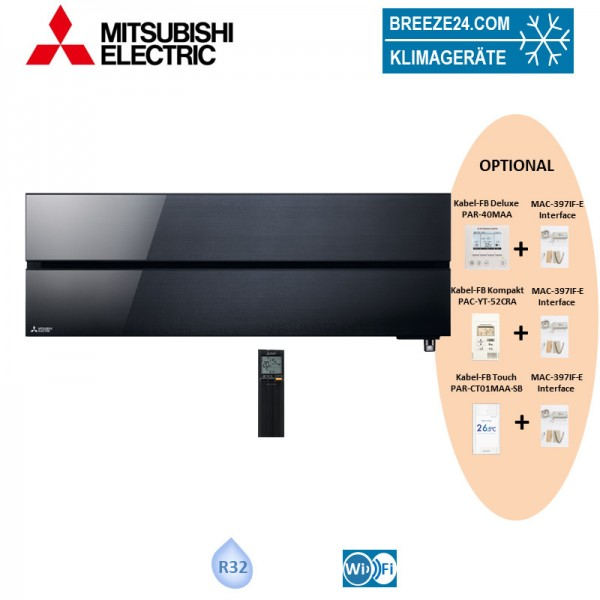 Mitsubishi Eletric Diamond Wandgerät MSZ-LN25VG2B - 2,5kW