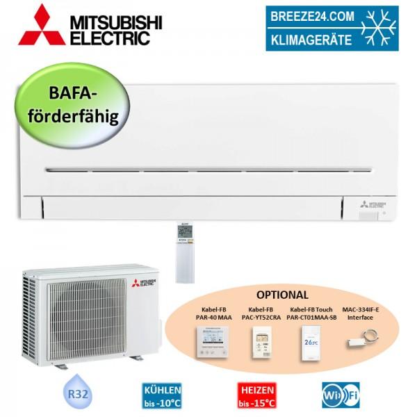 Mitsubishi Electric Set Wandgerät mit WiFi 3,5 kW - MSZ-AP35VGK + MUZ-AP35VG R32 Klimaanlage
