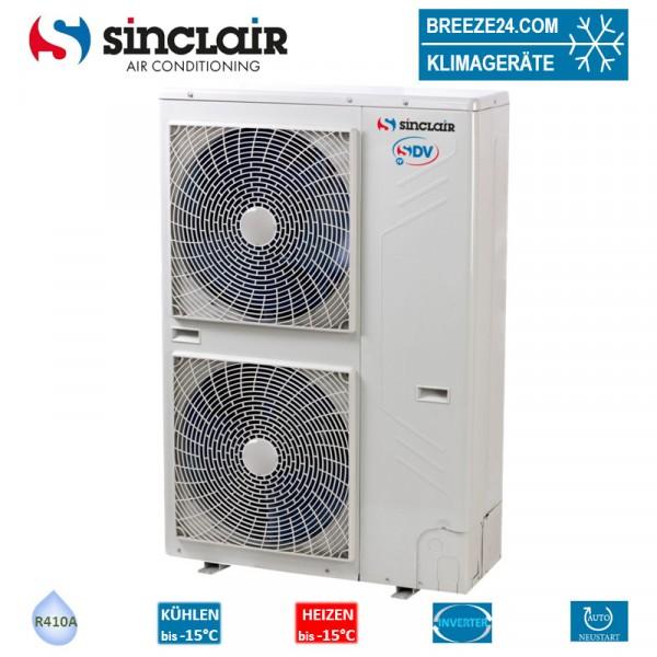 Sinclair SDV4-160EAA VRF Außengerät für bis zu 7 Innengeräte 15,5 kW