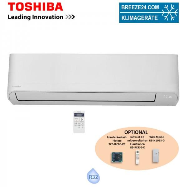 Toshiba Wandgerät Seiya 6,5 kW - RAS-24J2KVG-E (Nur Monosplit) R32