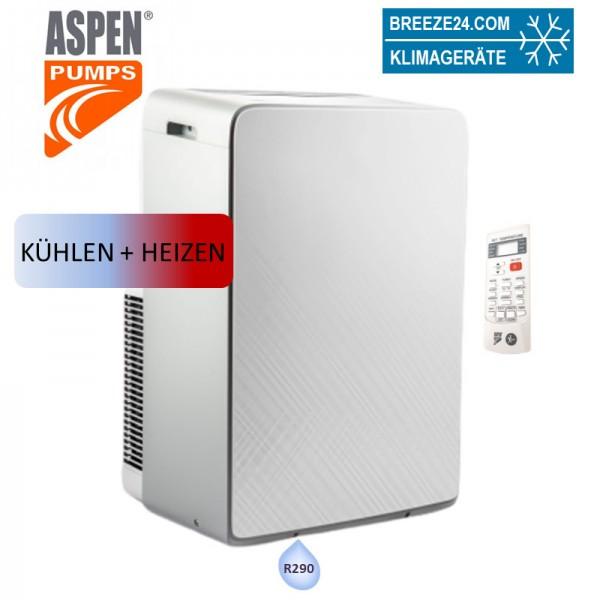 Aspen AX3008/1 Mobiles Klimagerät 3,4 kW (Kühlen und Heizen) R290