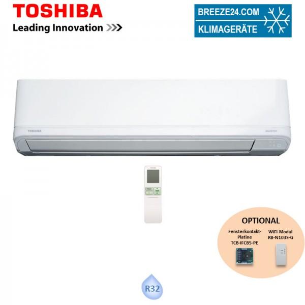 Toshiba Wandgerät Shorai Premium 5,0 kW - RAS-B18J2KVRG-E (nur Monosplit) R32