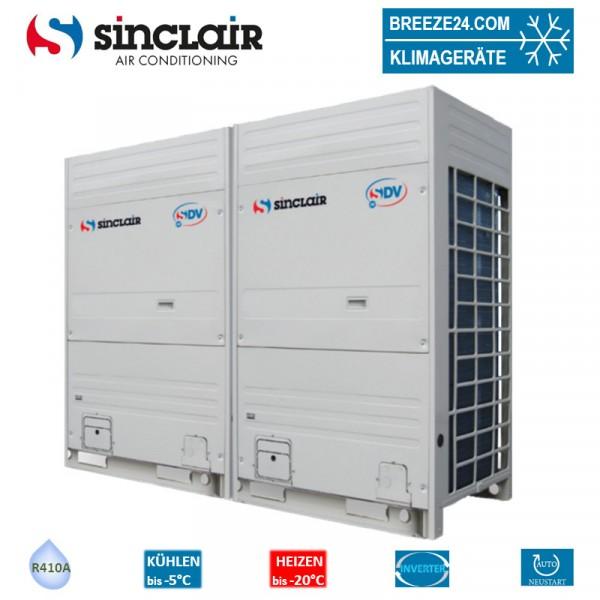 Sinclair SDV4-280EA3P VRF Außengerät für bis zu 16 Innengeräte 28,0 kW