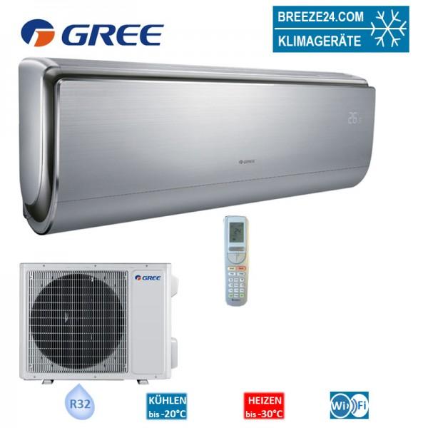 GREE Set Wandgerät Inverter Design 3,5 kW - GWH-12-UB6-I + GWH-12-UB6-0 R32 Klimaanlage
