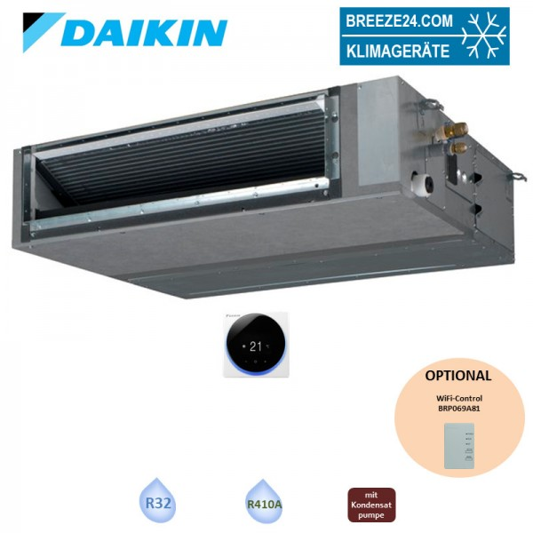 Daikin Kanalgerät 3,4 kW - FBA35A9 (Fernbedienung wählbar) R32 oder R410A