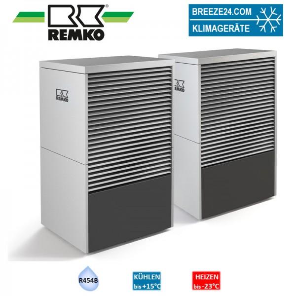 LWM 150 Duo ALU Monobloc-Wärmepumpe