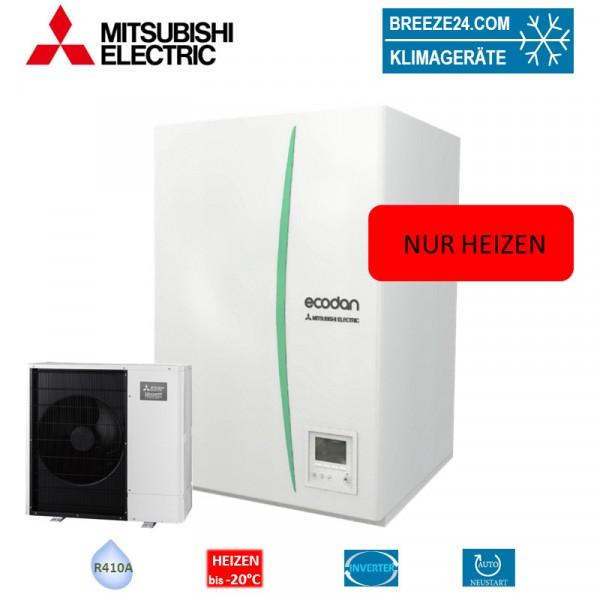Mitsubishi Electric Set EHSD-YM9C Hydrobox + Wärmepumpe PUHZ-SW75YAA nur Heizen