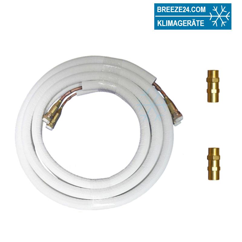 """1/4"""" / 3/8"""" (6/10 mm) Quick Connect vorgefüllte Kältemittelleitungen"""