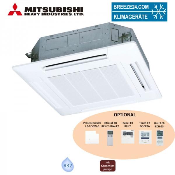 Mitsubishi Heavy 4-Wege-Deckenkassette 7,1kW - FDT 71 KXZE1-W Standardpaneel T-PSA-5BW-E VRF R32