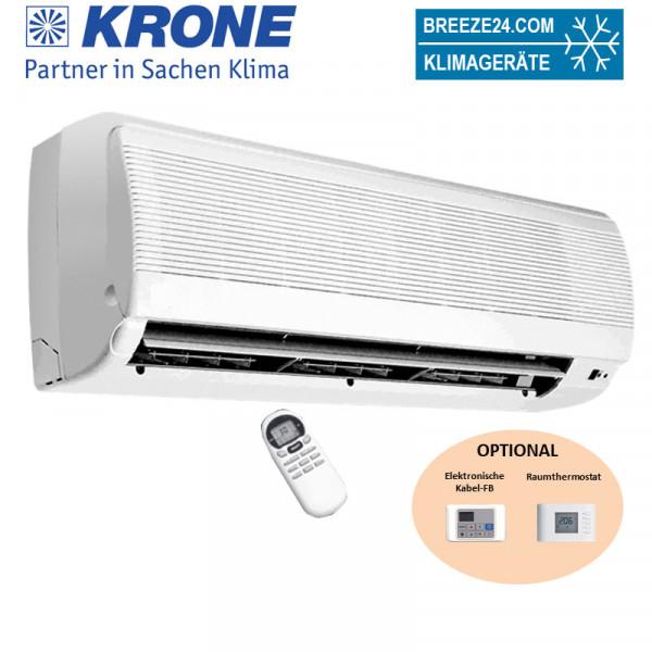 Krone WLT 21 Kaltwasser-Wandgeräte 2,1 kW Gerät mit elektronischer Regelung und 3-wege-Ventil