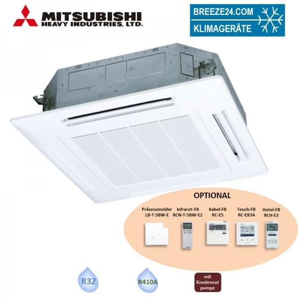 Mitsubishi Heavy FDT100VH 4-Wege-Deckenkassette Standardpaneel T-PSA-5BW-E 10,0 kW