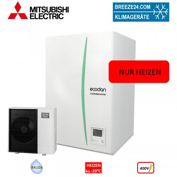 Set 7.61 EHPX-YM9C Hydrobox + PUHZ-W60VAA Wärmepumpe nur Heizen 400V