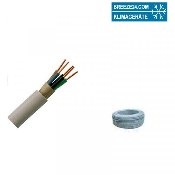 NYM-J 3 x 1.5 mm² Mantelleitung PVC Grau