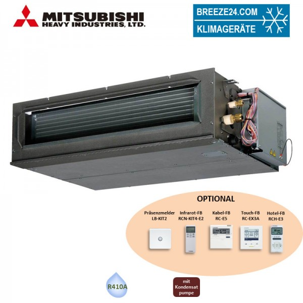 Mitsubishi Heavy KX Kanalgerät 7,1 kW - FDU71KXE6F - R410A