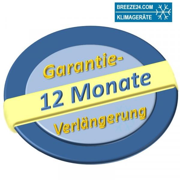 Garantieverlängerung für Klimaanlage Sets bis 7,5 kW von 24 auf 36 Monate