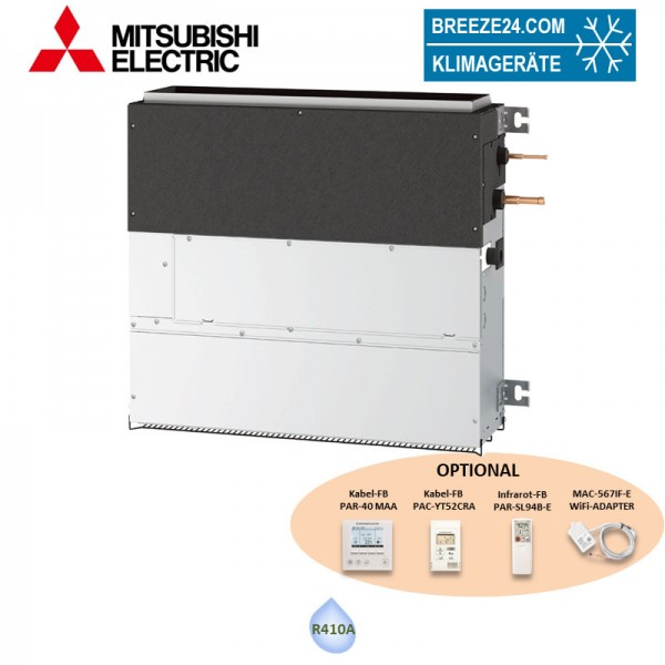 Mitsubishi Electric VRF Kompakt Truhengerät ohne Verkleidung PFFY-P25VCM-E - 2,8 kW