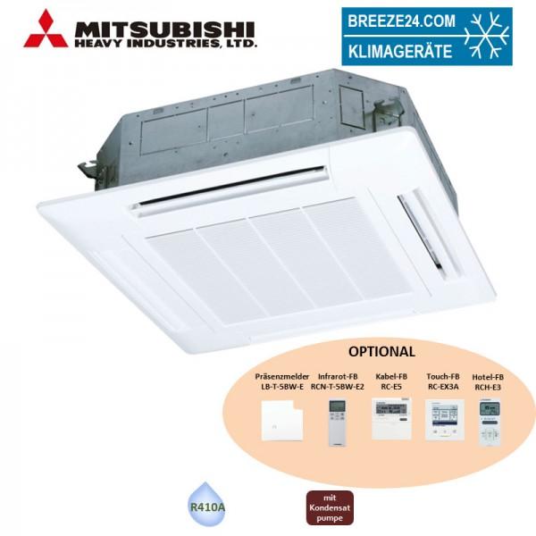 Mitsubishi Heavy 4-Wege-Deckenkassette 2,8 kW - FDT 28 KXZE1 Standardpaneel KX R410A