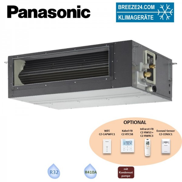Panasonic Kanalgerät 7,1 kW - S-71PF1E5B - R32 oder R410A Klimaanlage