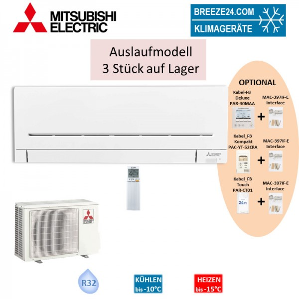 Mitsubishi Electric Set Wandgerät Kompakt 4,2 kW - MSZ-AP42VG + MUZ-AP42VG R32 Klimaanlage