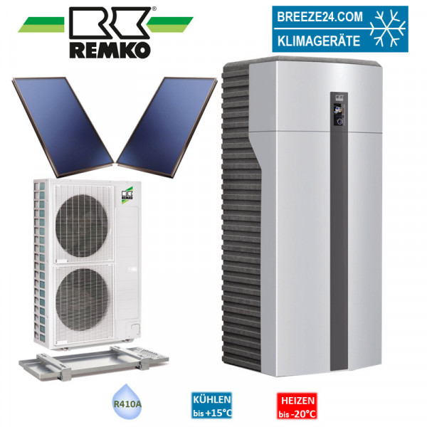 Set Wärmepumpe WKF 180 Paket Stuttgart Solar