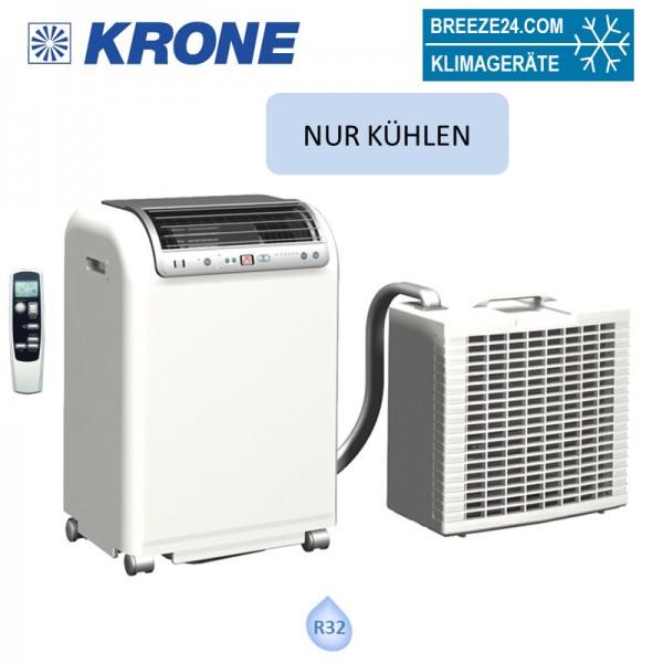 Krone RKL-495-EDV Mobiles Split-Raumklimagerät mit eingebauter Winterregelung 4,3 kW