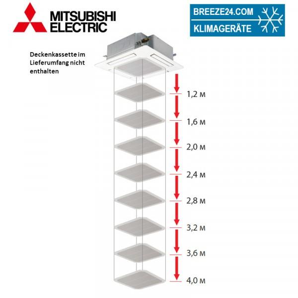 PLP-6EAJ Filterlift Blende für 4-Wege Deckenkassetten der MR.SLIM Baureihe