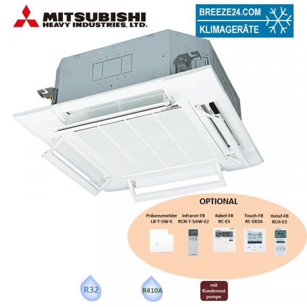 Mitsubishi Heavy FDT 140 VH 4-Wege-Deckenkassette Komfortpaneel 13,6 kW