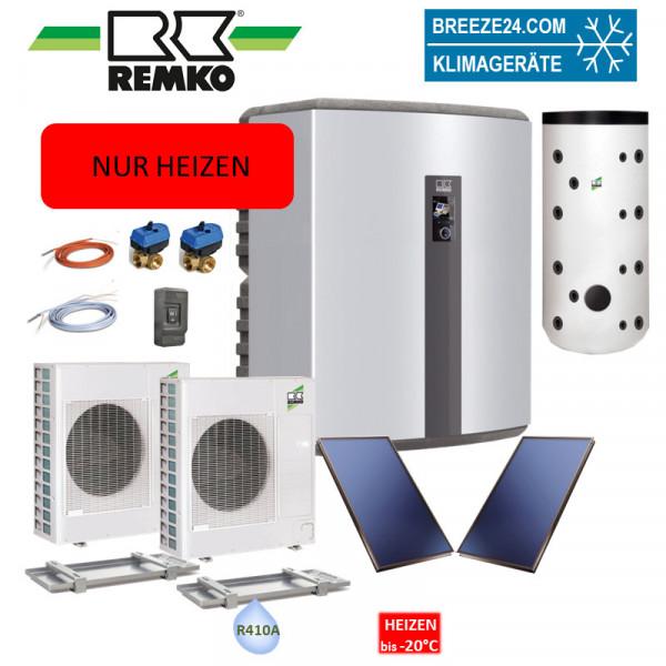 Set Wärmepumpe WKF 120 Paket Frankfurt Duo Solar