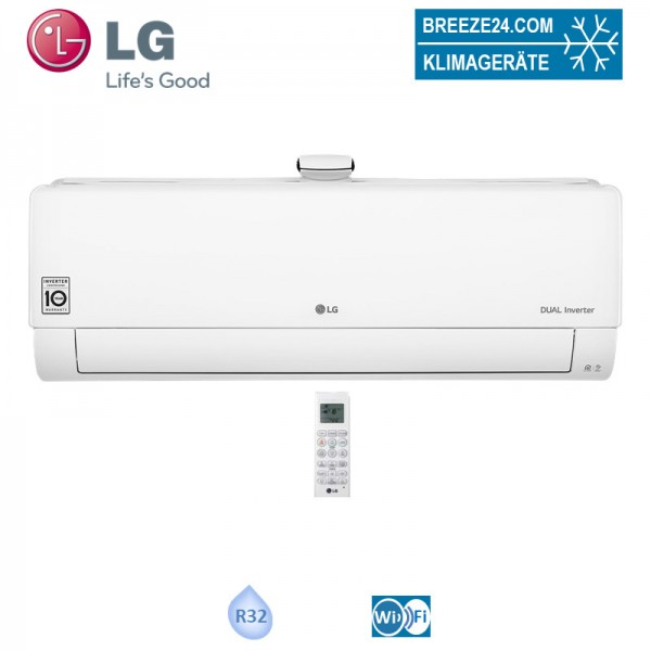 LG Wandgerät 2,5 kW Deluxe Air Purification AP09RT.NSJ - R32 Klimaanlage
