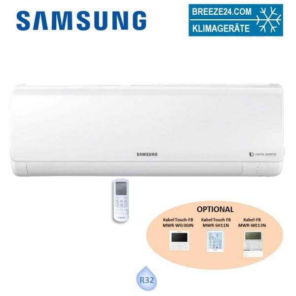 Samsung Wandgerät Regular 9,5 kW - AC 100 RNTDKG (Mono-/Simultan) BAC NASA R32