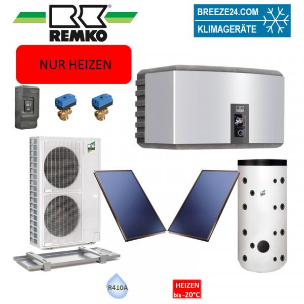 Set Wärmepumpe WKF 180 Paket Frankfurt Solar (Nur Heizen)