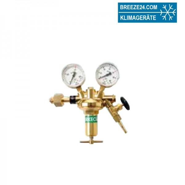Stickstoff-Flaschendruckminderer nach DIN EN ISO 2503 389/40/01mit Absperrventil
