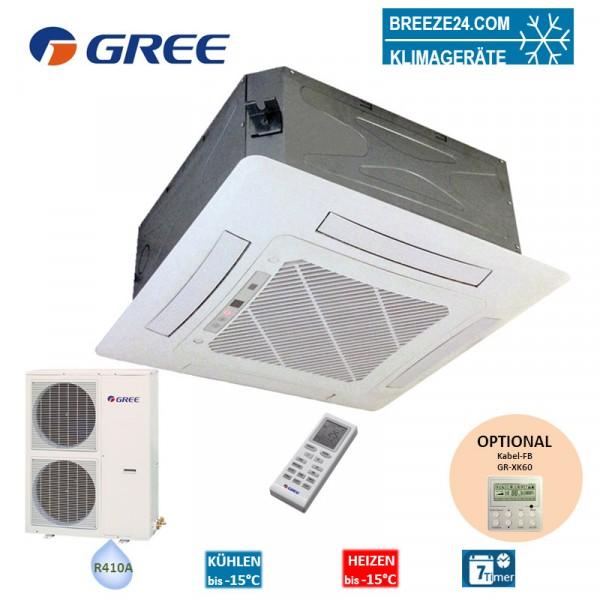Set GKH-60-K3-4 4-Wege-Deckenkassette + GUHD-60-NM-4
