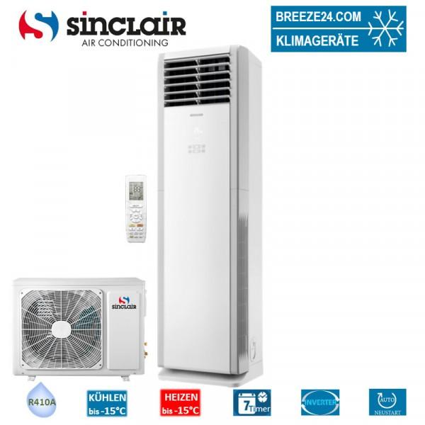 Sinclair Set Tower 7,2 kW - AST-24AI + Außengerät R410A Klimaanlage