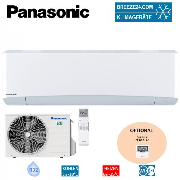 Panasonic Set Wandgerät Etherea 2,0 kW - CS-Z20VKEW+ CU-Z20VKE R32 Klimaanlage