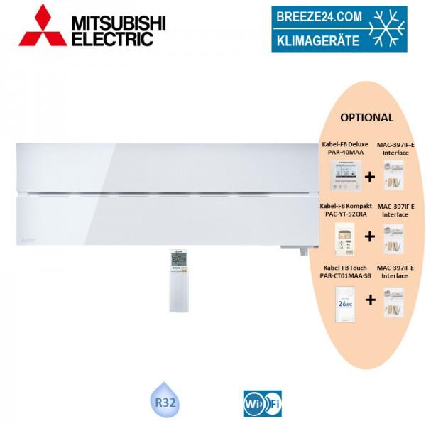 Mitsubishi Electric Wandgerät Diamond 2,5 kW - MSZ-LN25VG2W - R32 Klimaanlage